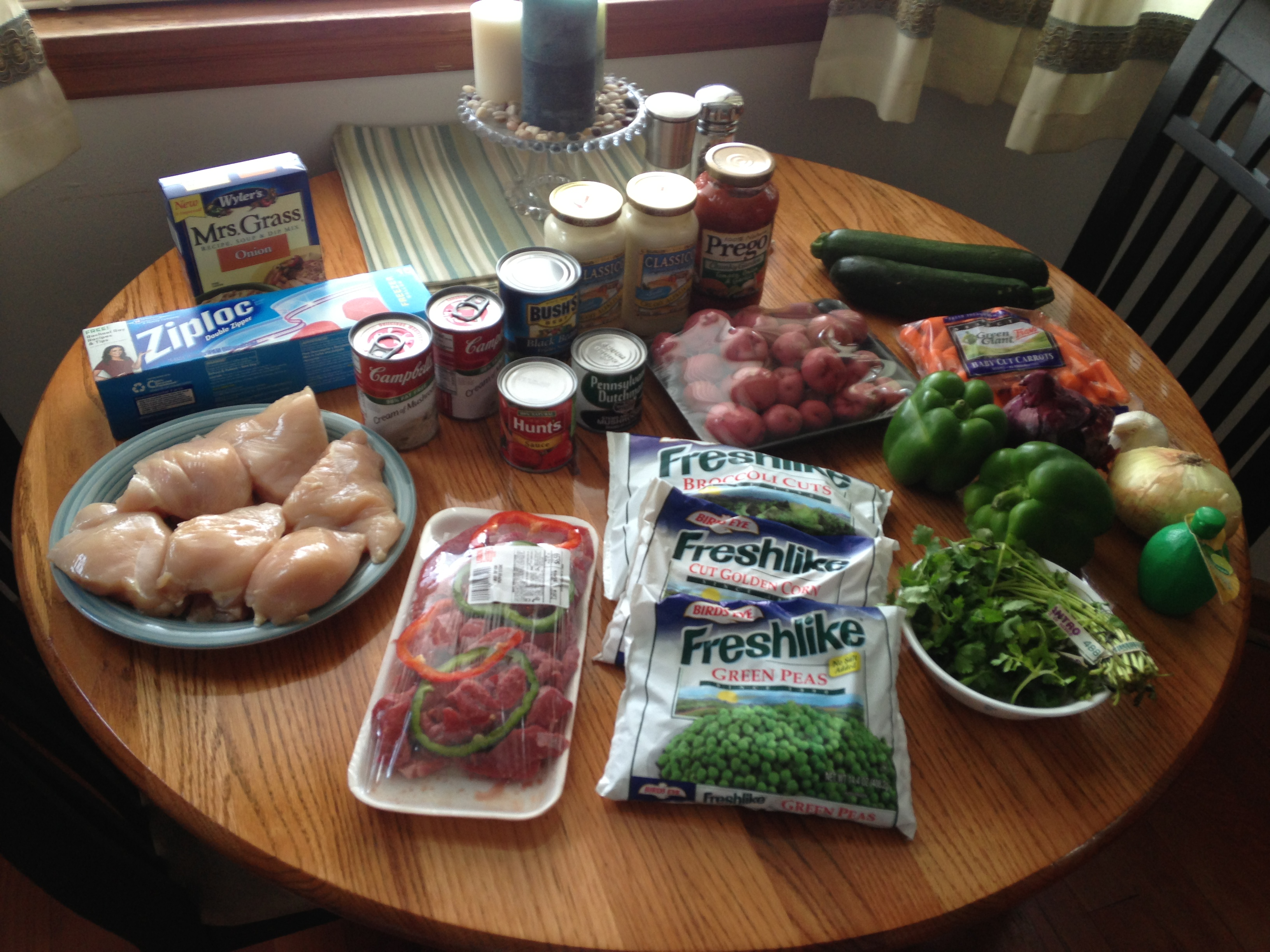 School Year Dinner Prep (c) Kristen Dembroski