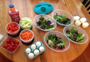 Salad Ingredients (c) Kristen Dembroski