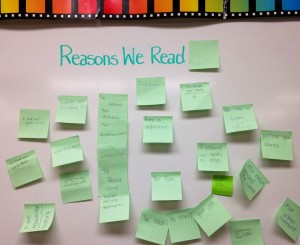 Reading Reasons (c) Kristen Dembroski