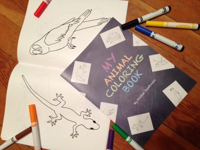 Animal Coloring Book (c) Kristen Dembroski