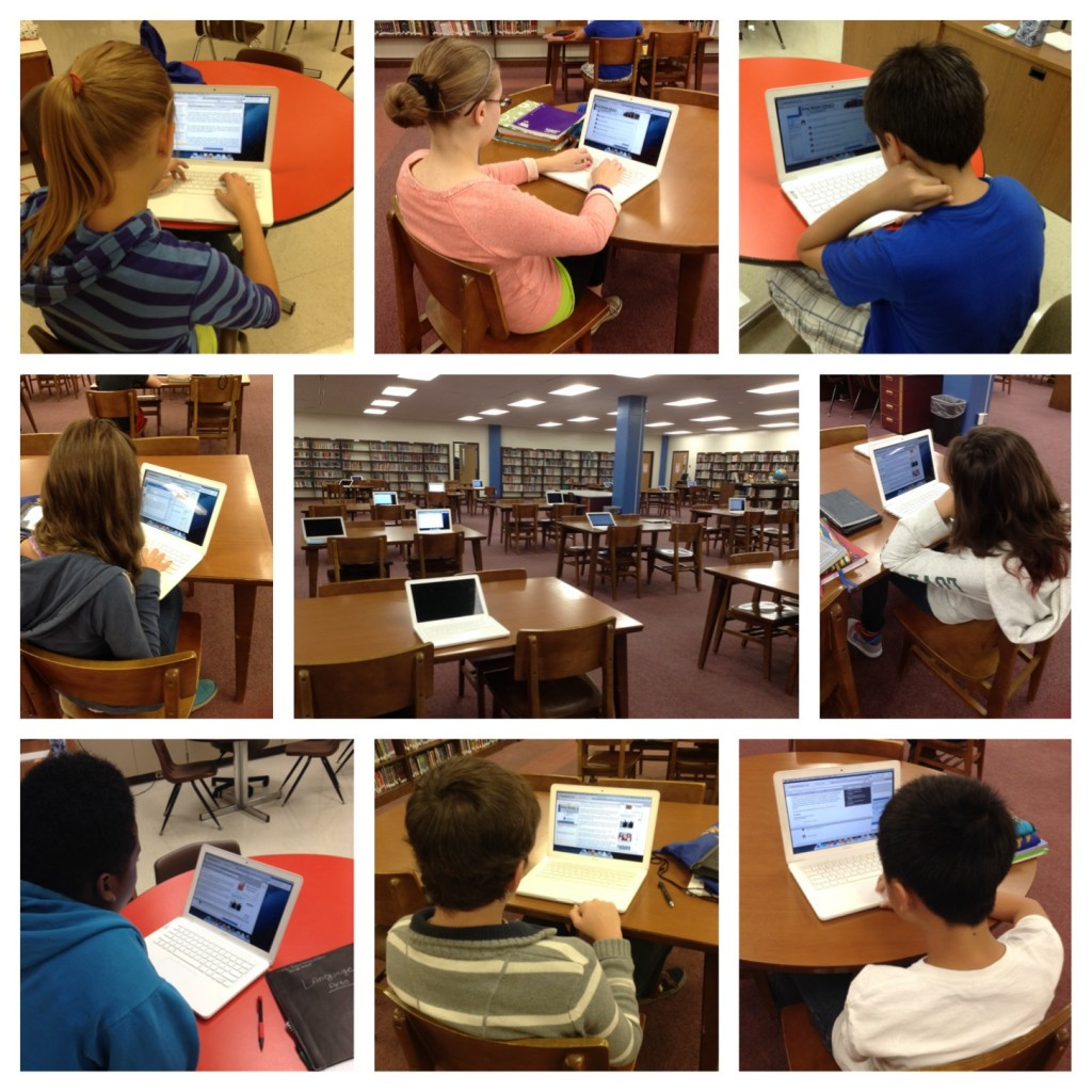 Online Reading Comprehension Assessment (c) Kristen Dembroski