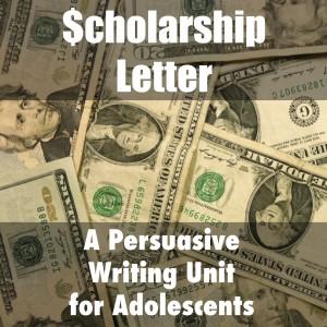 Scholarship Letter Unit (c) Kristen Dembroski