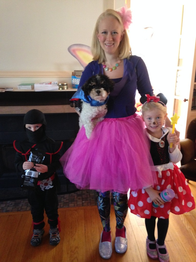 Ninja, Fairy Princess, & Minnie Mouse (c) Kristen Dembroski