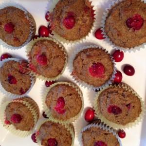 Pumpkin Cranberry Muffins (c) Kristen Dembroski