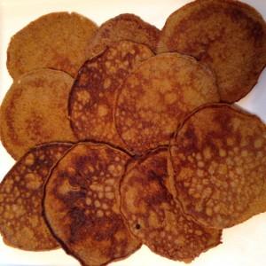 Pumpkin Pancakes (c) Kristen Dembroski