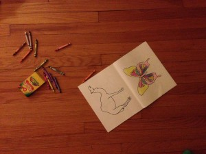 My Animals Coloring Book (c) Kristen Dembroski