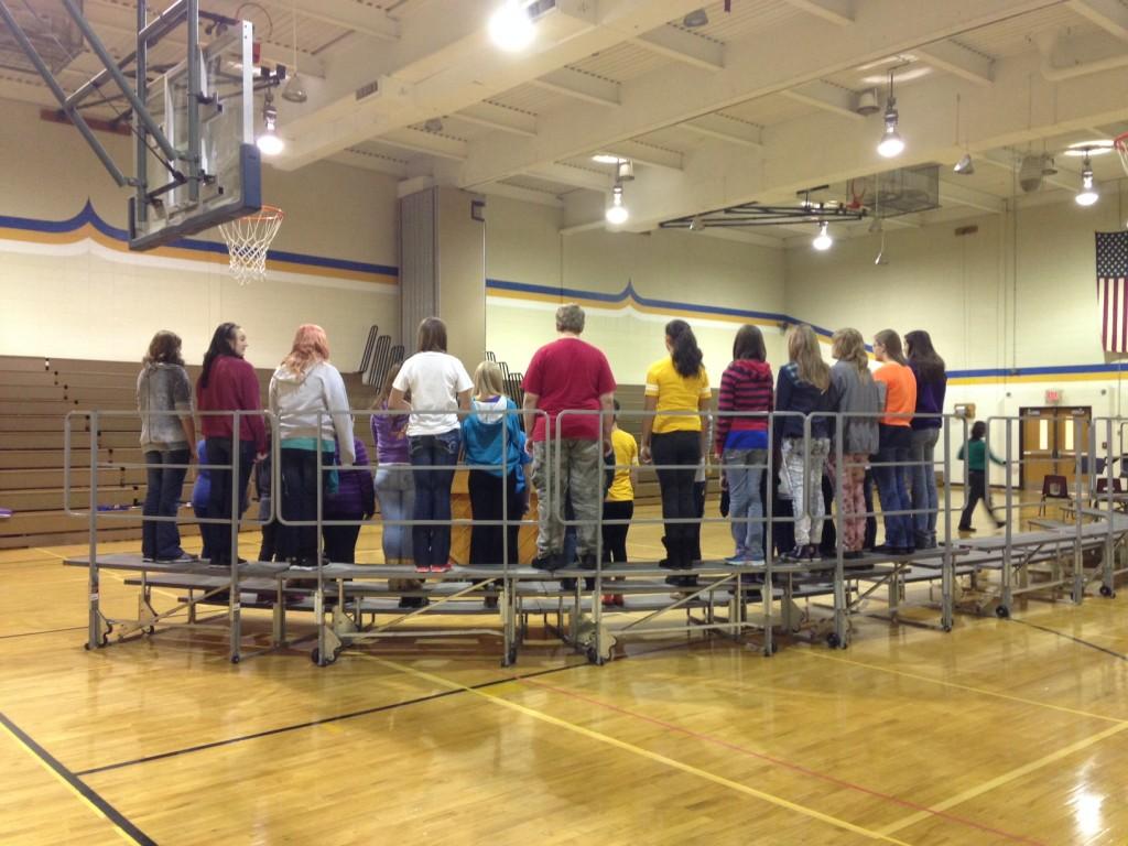 Choir Practice (c) Kristen Dembroski
