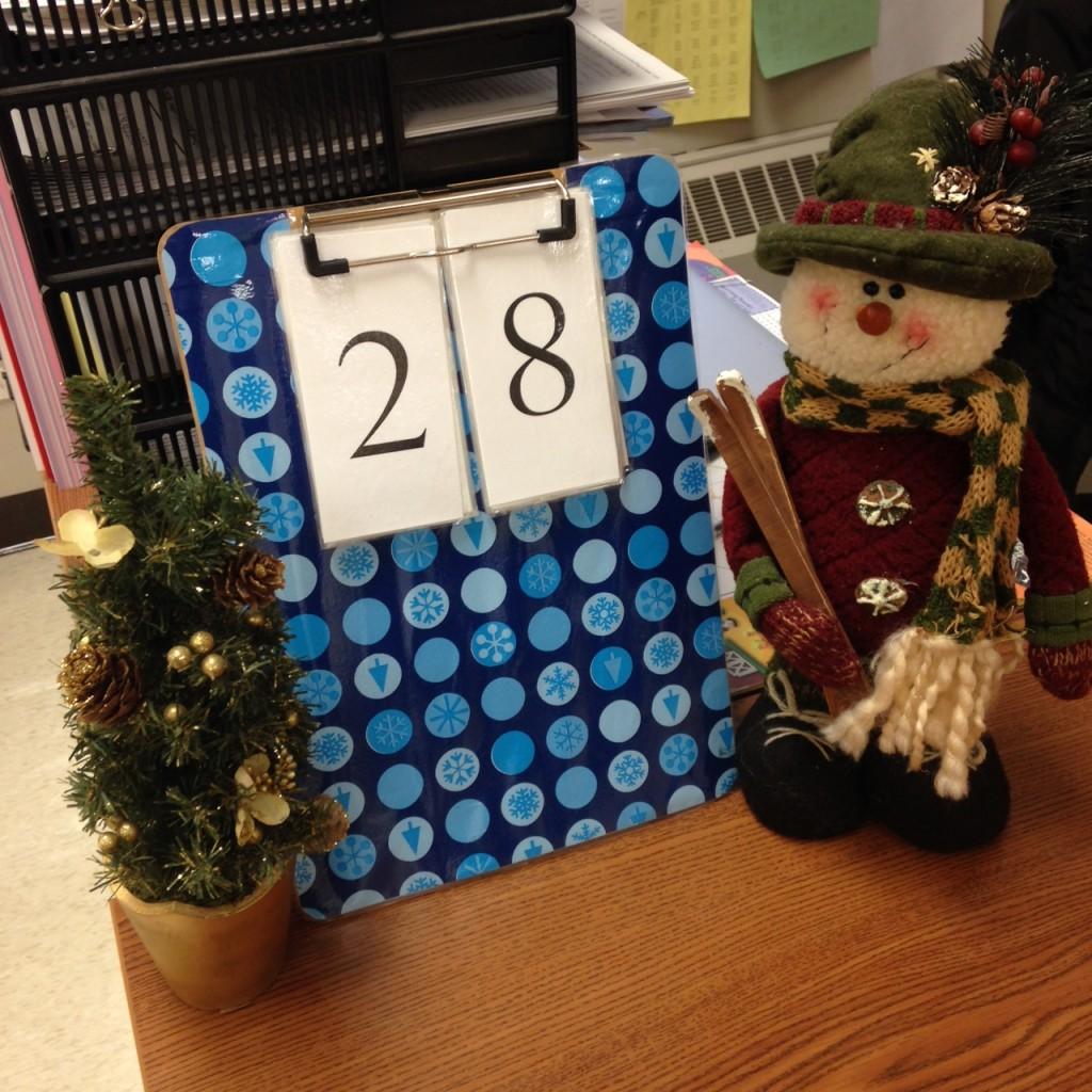 Christmas Countdown (c) Kristen Dembroski