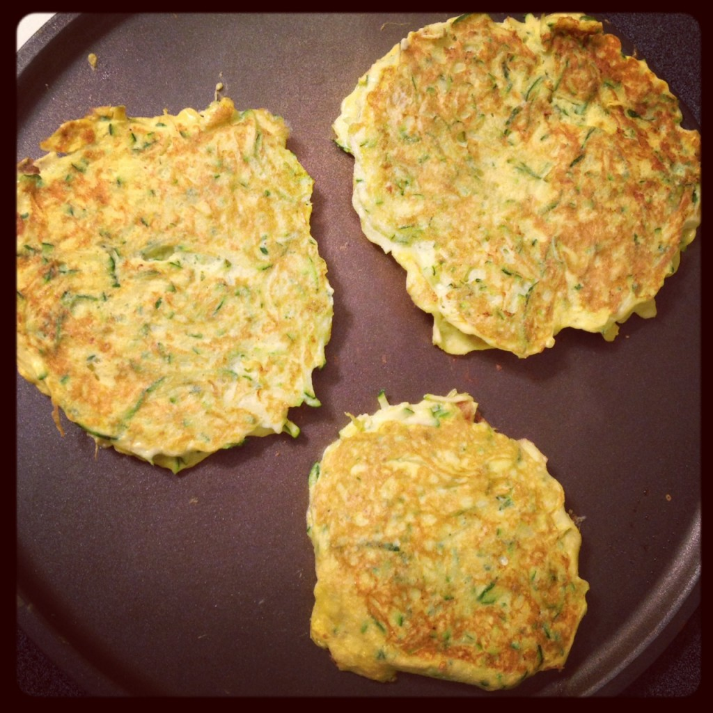 Zucchini Pancakes (c) Kristen Dembroski