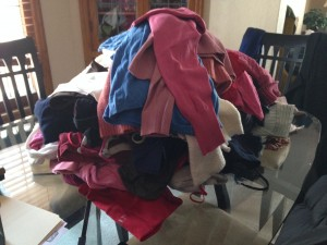 Clothing Donation (c) Kristen Dembroski