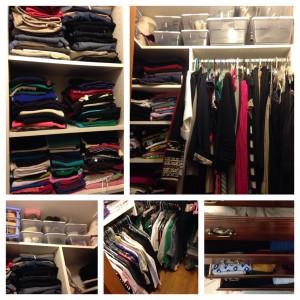 My Organized Closet (c) Kristen Dembroski