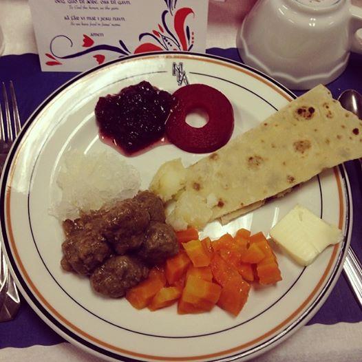 Lutefisk Dinner (c) Kristen Dembroski
