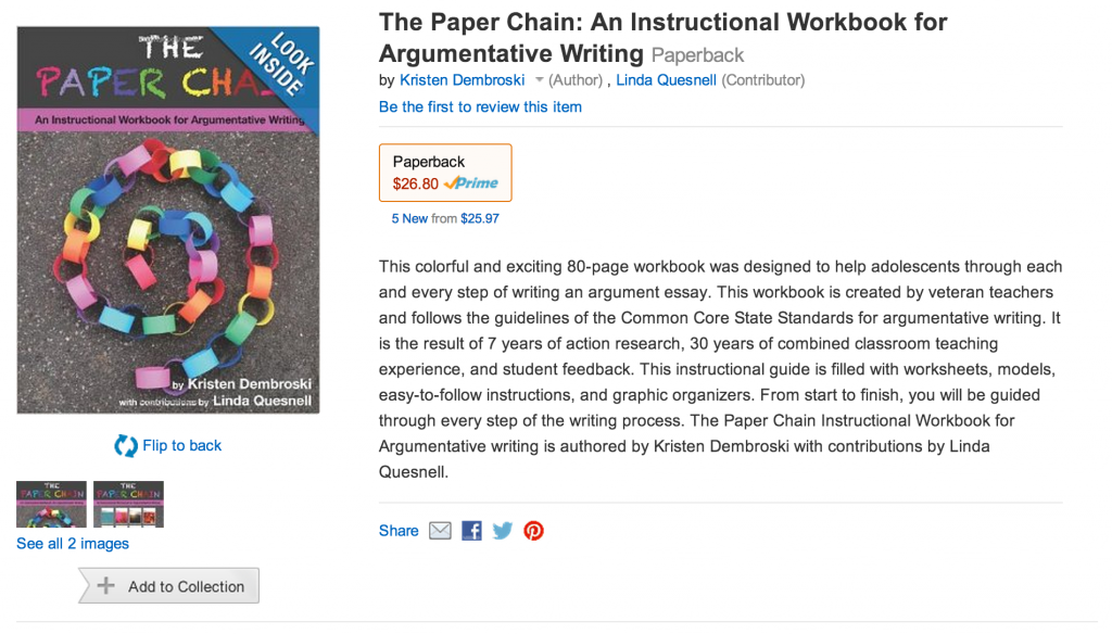 Paper Chain Amazon (c) Kristen Dembroski