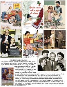 Gender Roles 1950s (c) Kristen Dembroski