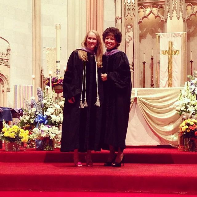 Jenn Hooding Ceremony (c) Kristen Dembroski