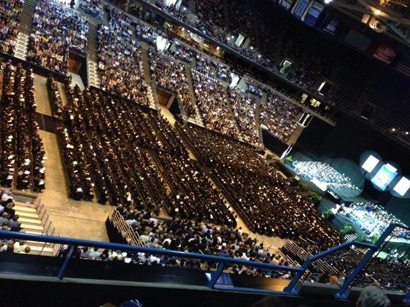 Graduation Ceremony (c) Kristen Dembroski