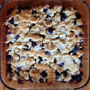 Blueberry Crumble (c) Kristen Dembroski