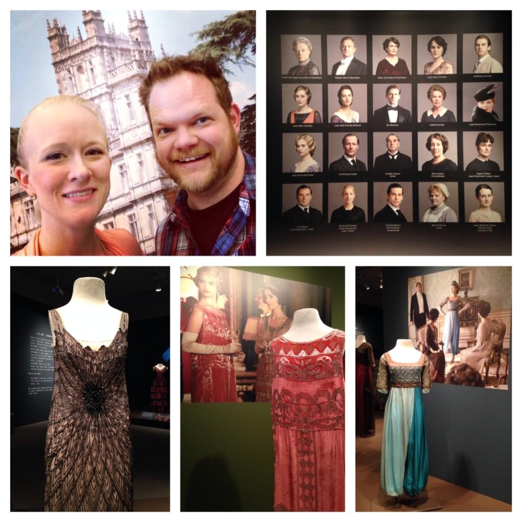 Downton Abbey Exhibit (c) Kristen Dembroski