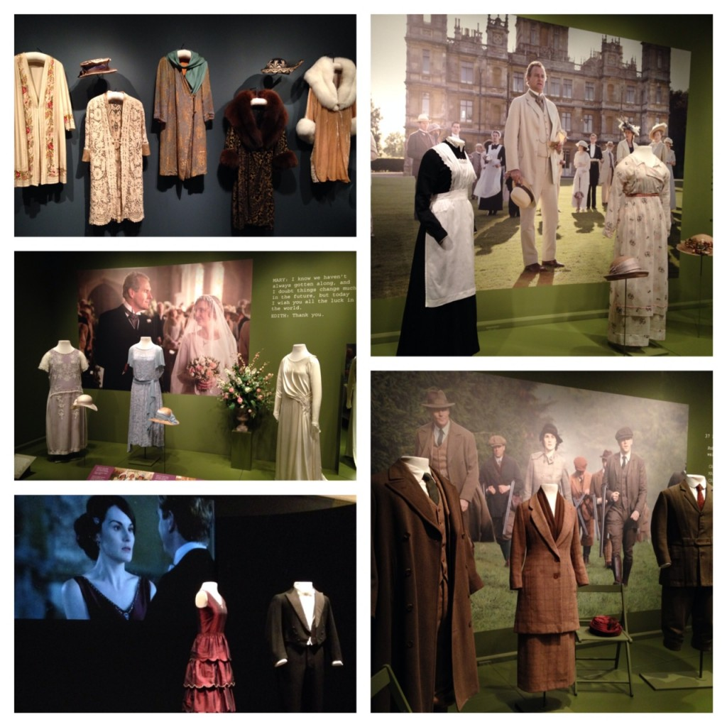 Downton Abbey Exhibit Costumes (c) Kristen Dembroski