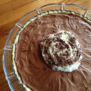 French Silk Pie (c) Kristen Dembroski