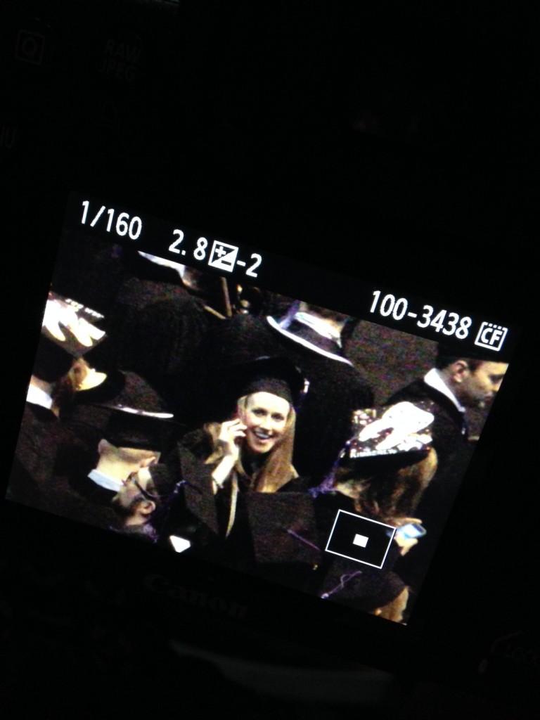 Jenn Graduation Ceremony (c) Kristen Dembroski