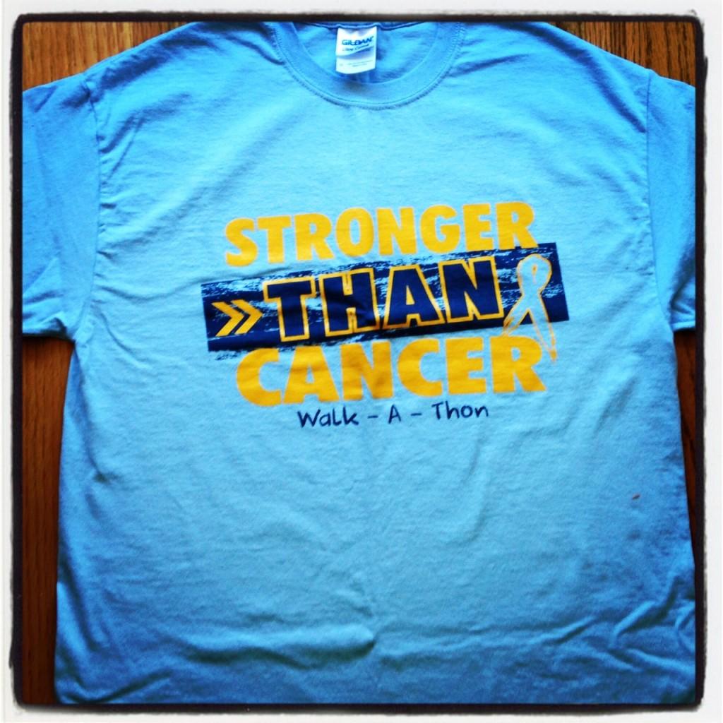 #joestrong T-shirts Walkathon (c) Kristen Dembroski