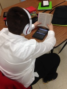 Listening and Reading (c) Kristen Dembroski