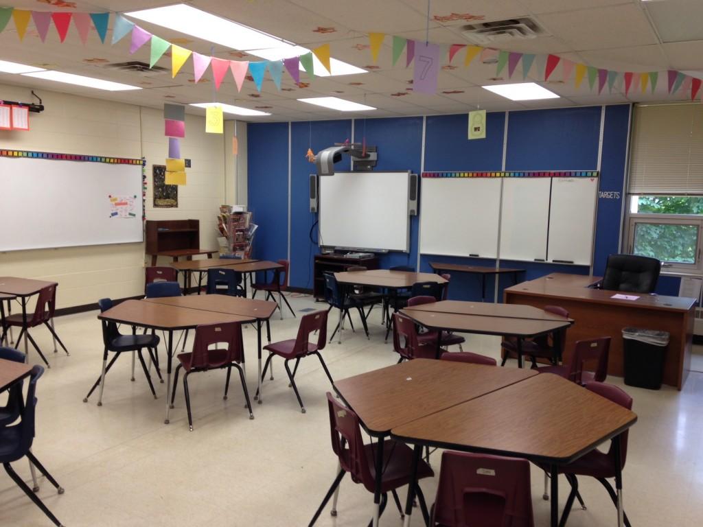 Empty Classroom (c) Kristen Dembroski