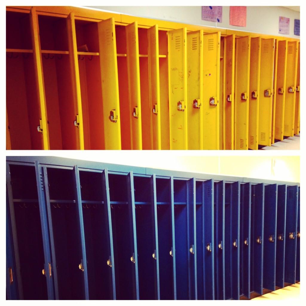 Empty Lockers (c) Kristen Dembroski