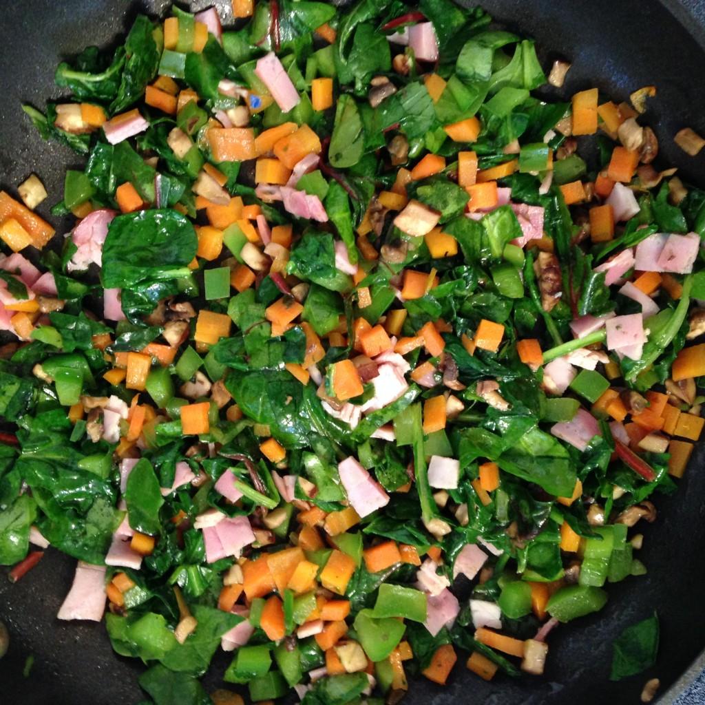 Sauteed Vegetables (c) Kristen Dembroski