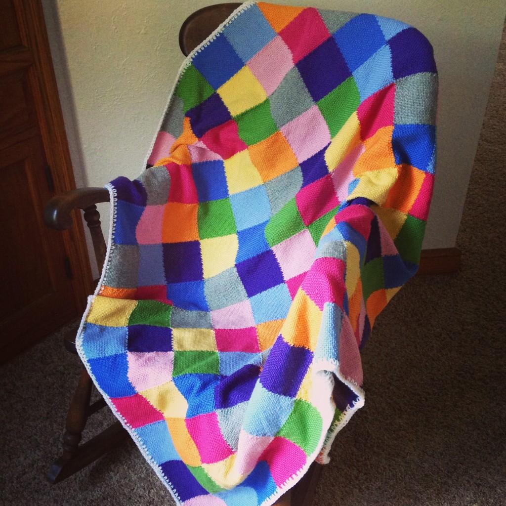 Zoom Loom Blanket (c) Kristen Dembroski