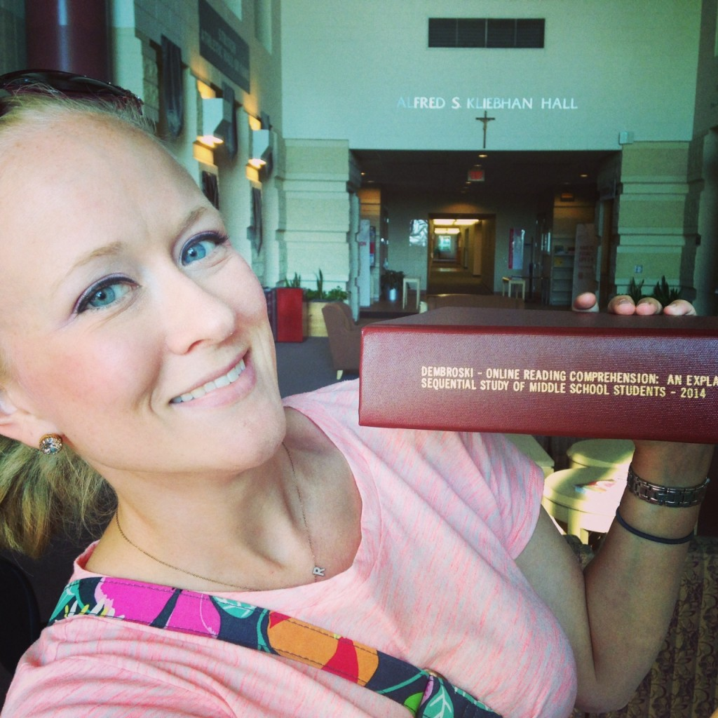 Dissertation Bound (c) Kristen Dembroski