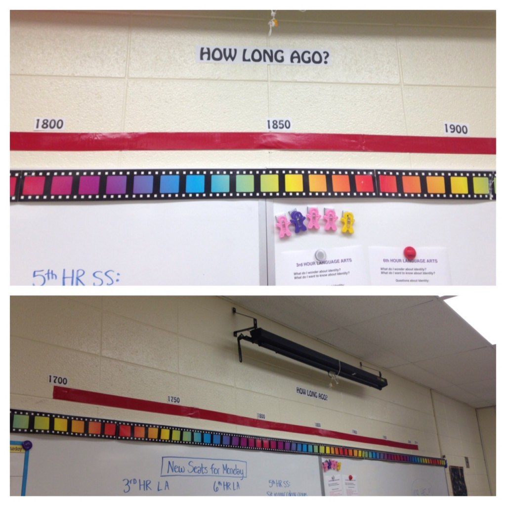 Classroom Timeline (c) Kristen Dembroski