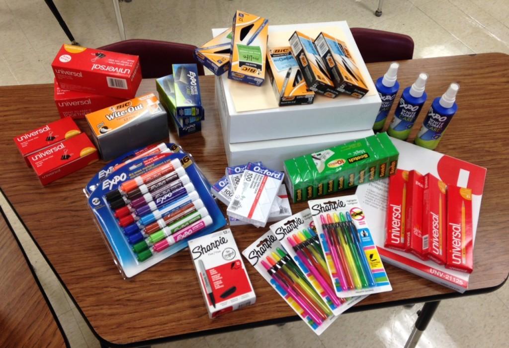 Back To School Supplies (c) Kristen Dembroski
