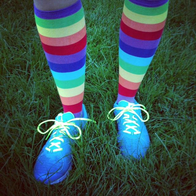 Rainbow Socks (c) Kristen Dembroski