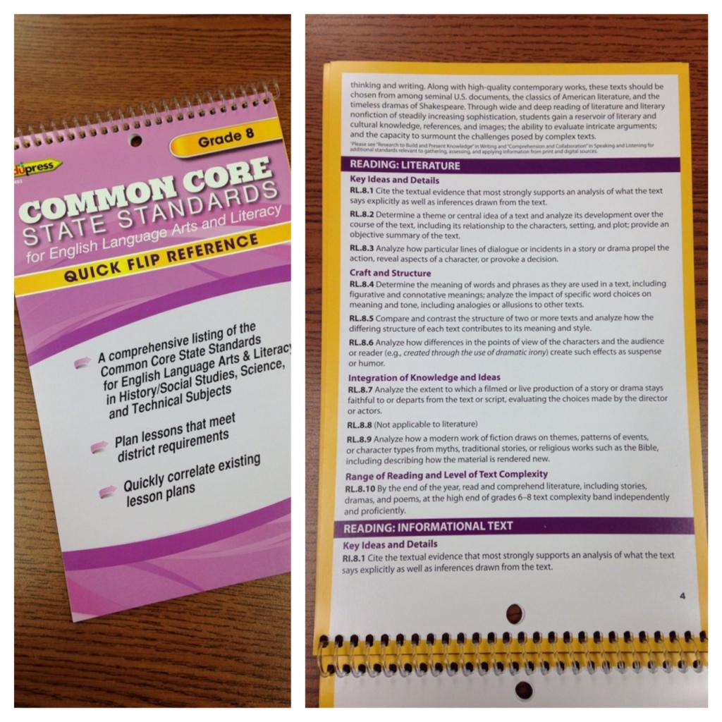 Common Core Flip Book (c) Kristen Dembroski