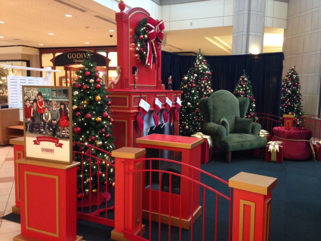 Christmas at the Mall (c) Kristen Dembroski