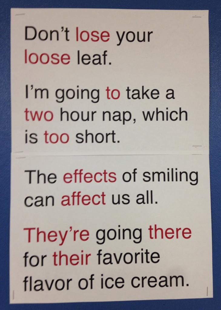 Grammar Rules (c) Kristen Dembroski