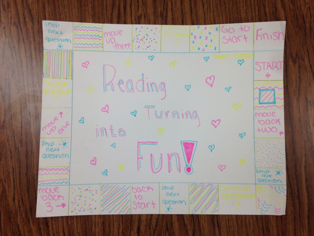 Reading Turning Into Fun (c) Kristen Dembroski