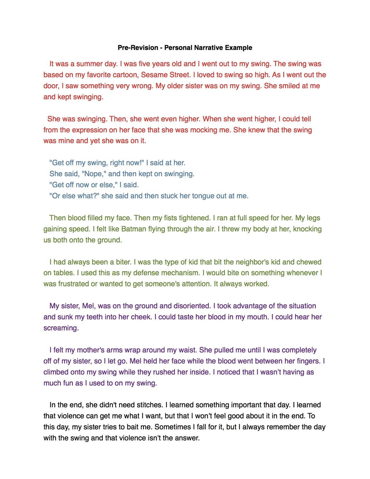 narrative essay happy story Narrative essay : my most memorable  ten more minutes, you will turn into eighteen happy birthday  i will never forget the story behind the scar,.