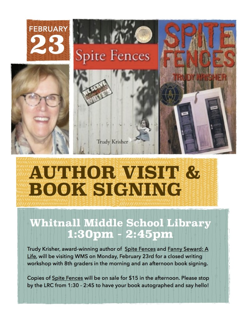 Book Signing Flyer copy