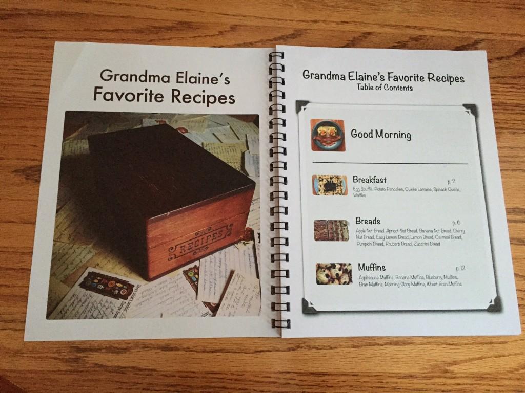 Grandma's Favorite Recipes (c) Kristen Dembroski