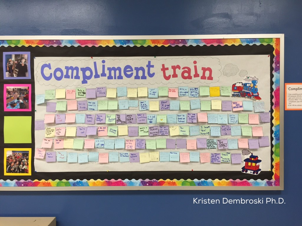 Compliment Train Kristen Dembroski