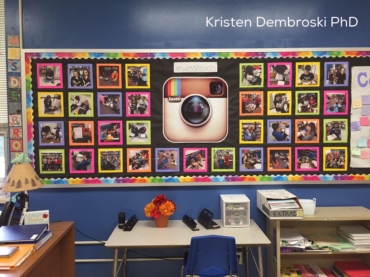 Classroom Board Design ~ Kristen dembroski ph d adolescent writing digital