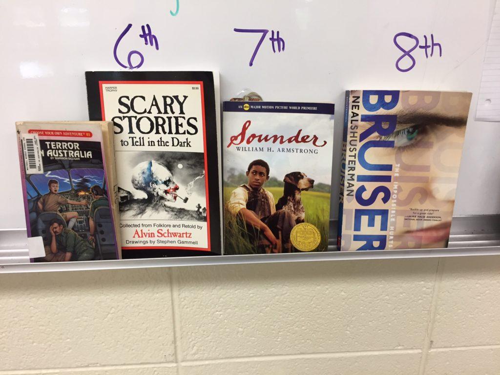 Middle School Read Aloud choices